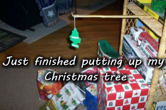 Just finished putting up my Christmas tree