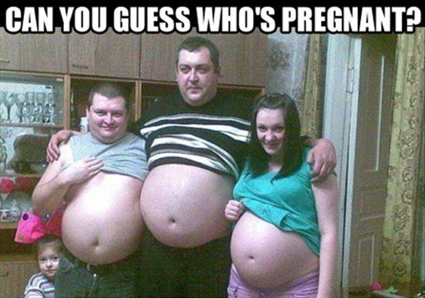 Can you guess who's pregnant?