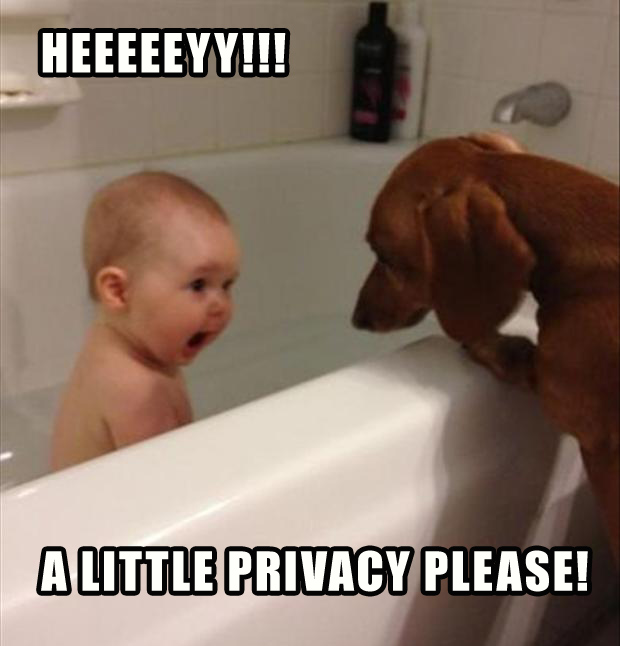 Heeeeeyy!!! A little privacy please!