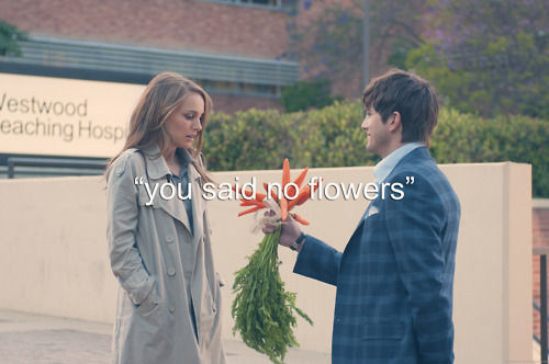 You said no flowers.