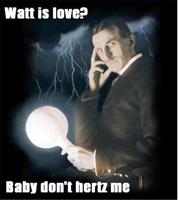 Watt is love? Baby don't herz me.