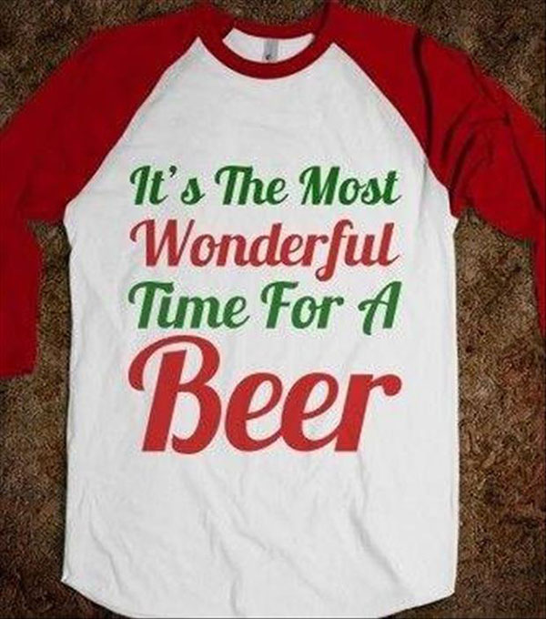It's the most wonderful time for a beer.